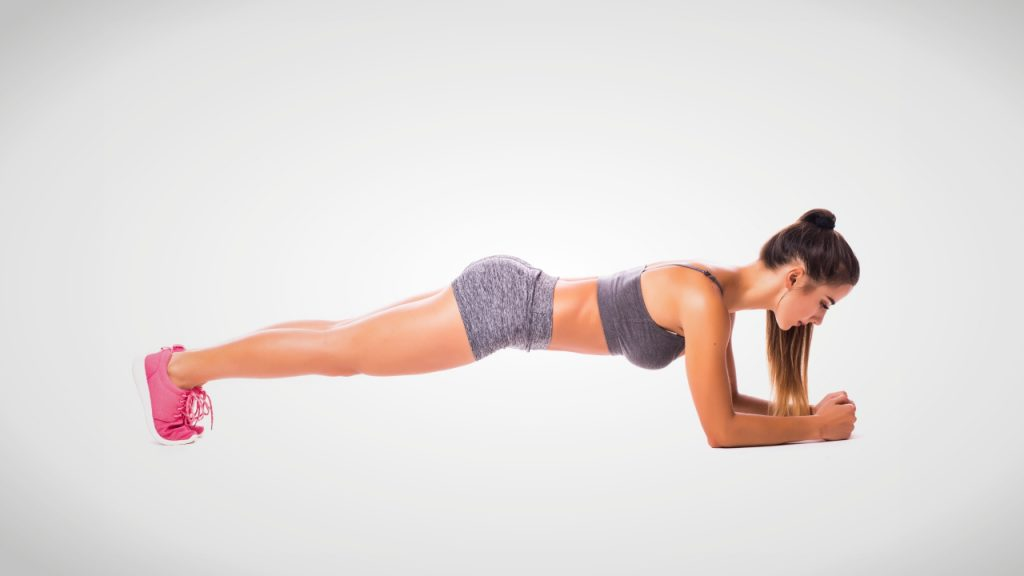 Exercise for beginners: Plank