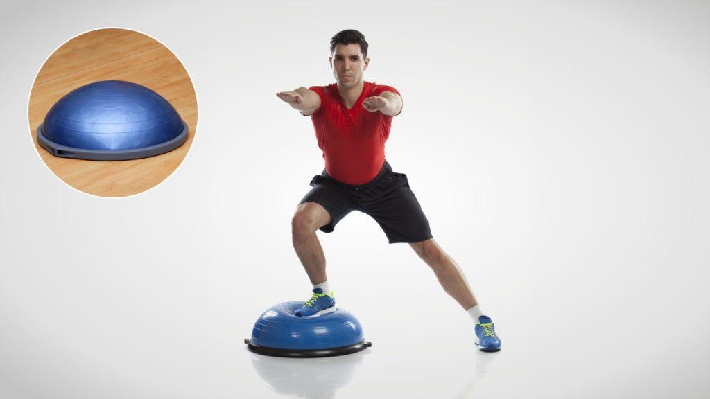 Home Exercise Equipment: Bosu ball