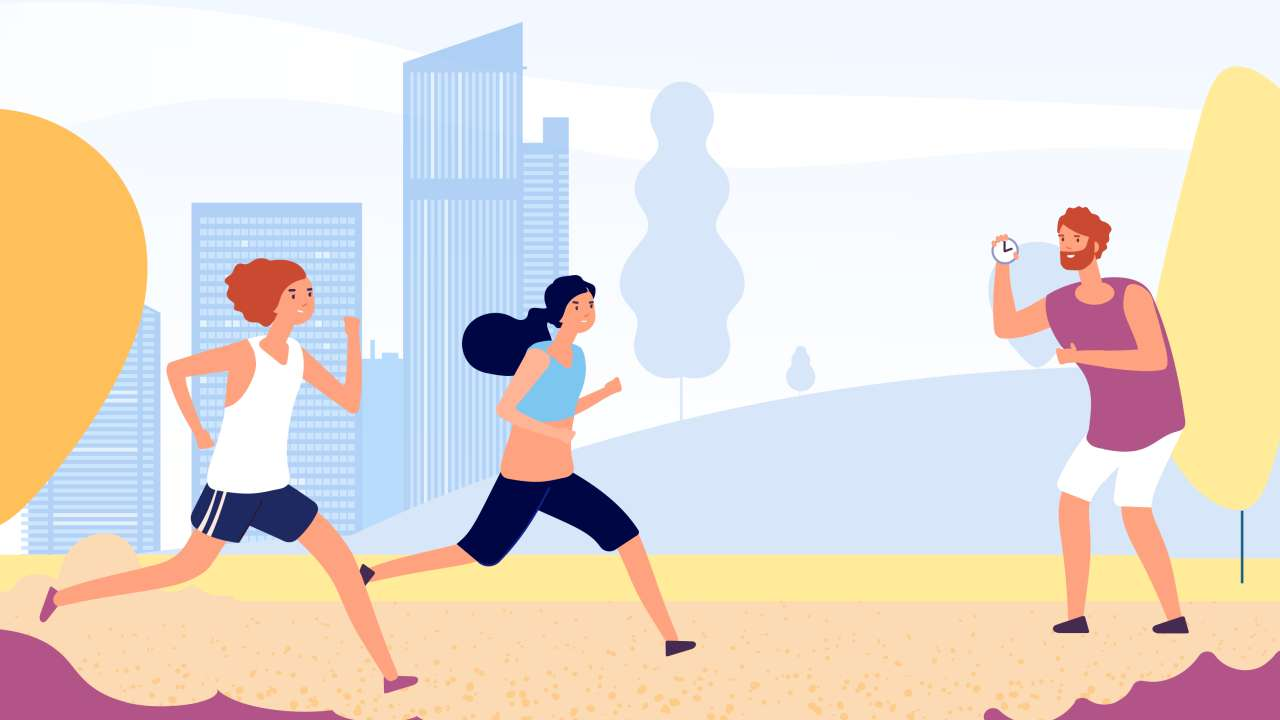 how to select a running coach