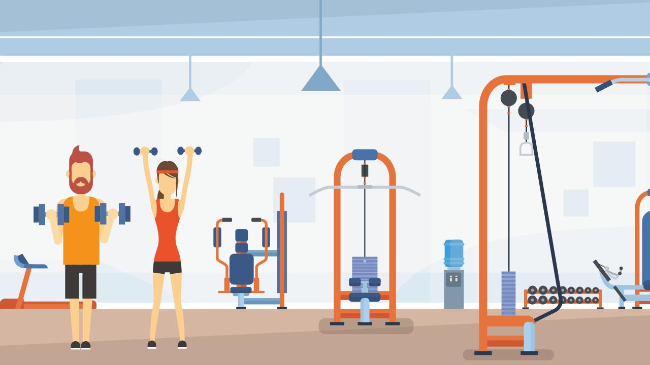 gym exercises for beginners