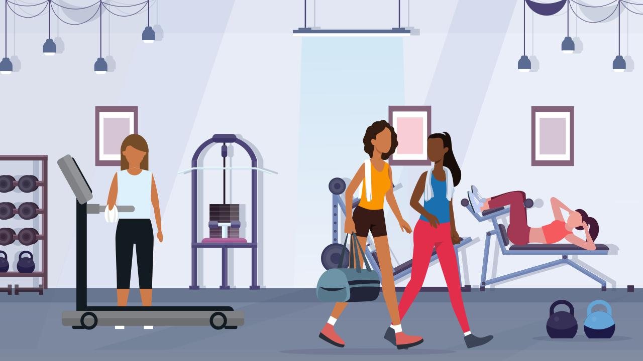 gym hygiene practice