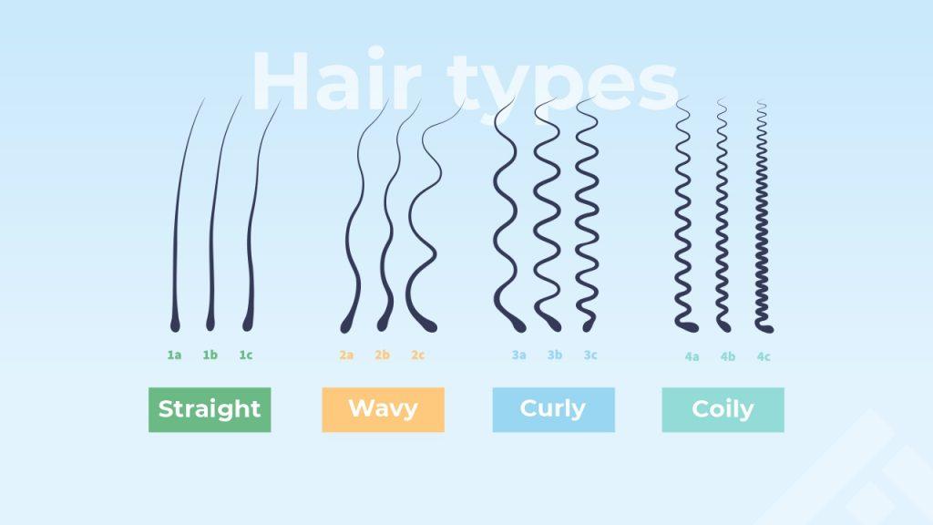 Types of hair