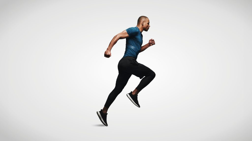 Dynamic stretches for runners: Bounding