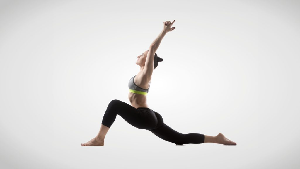 Static stretches for runners: Hip flexor stretch