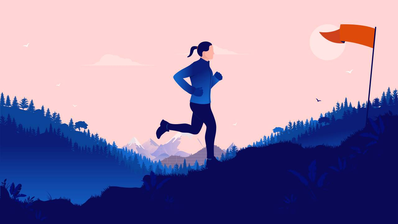 How to set goals for a race