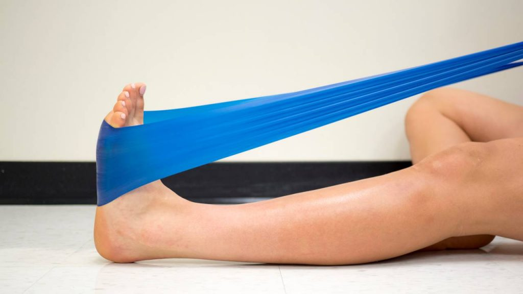 Types of resistance bands: Therapy band