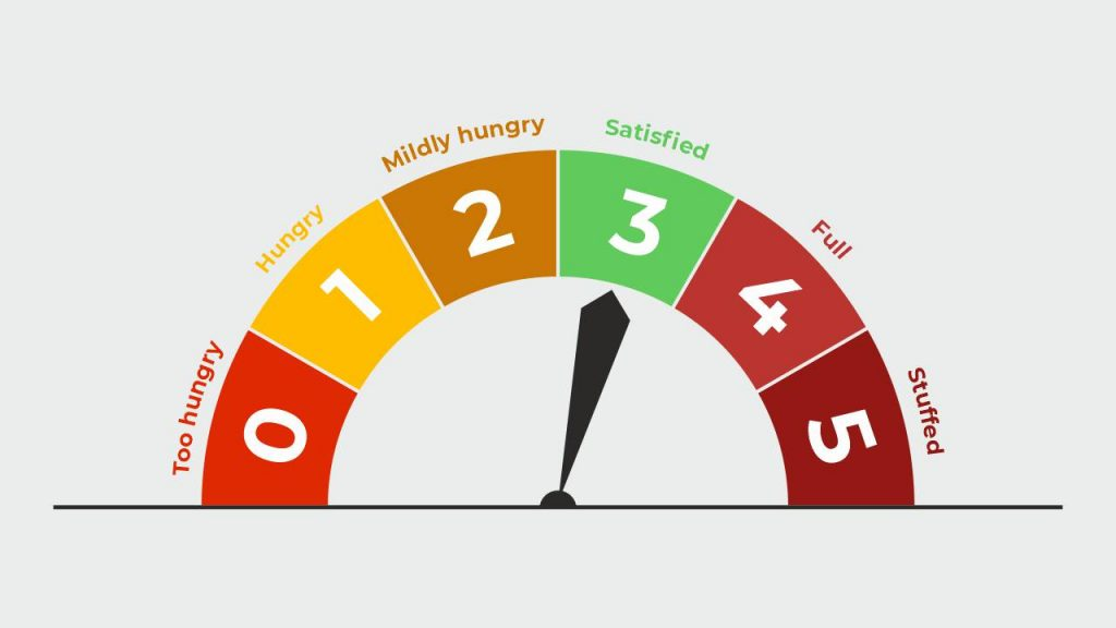 rate of hunger scale