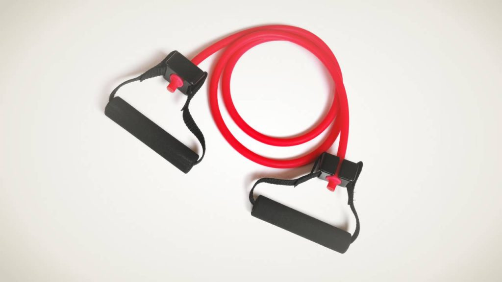 Types of resistance bands: Resistance tube band