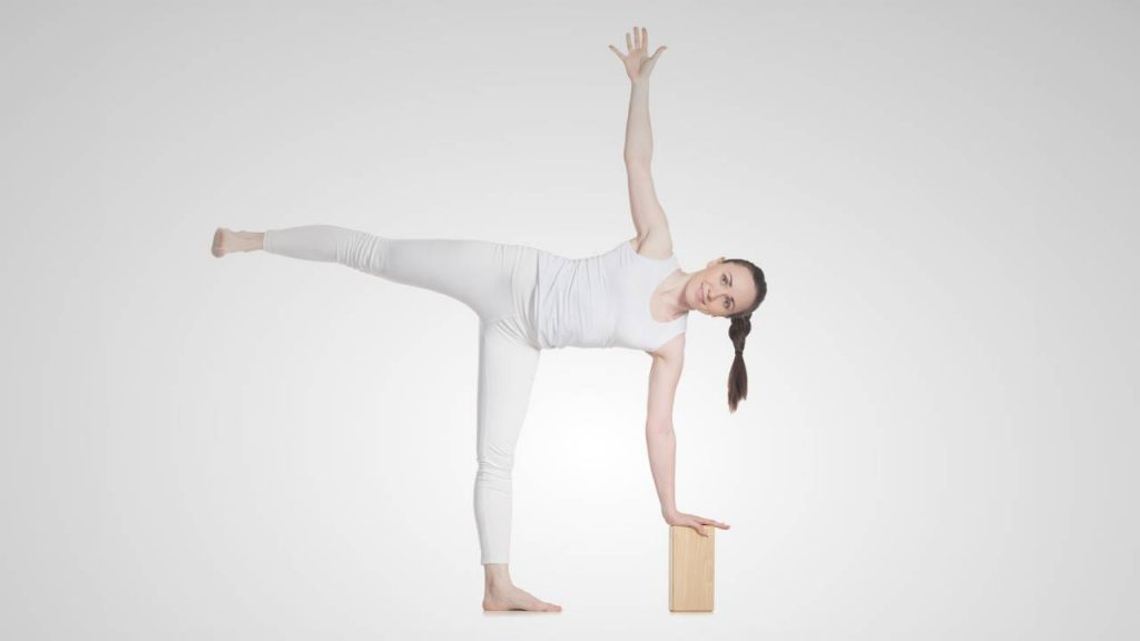 How to use yoga block for balance