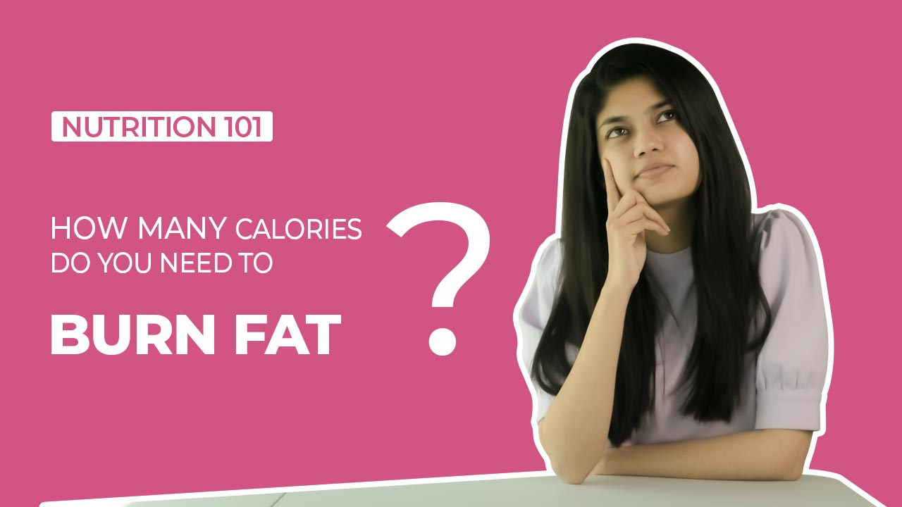 How many calories to burn fat?