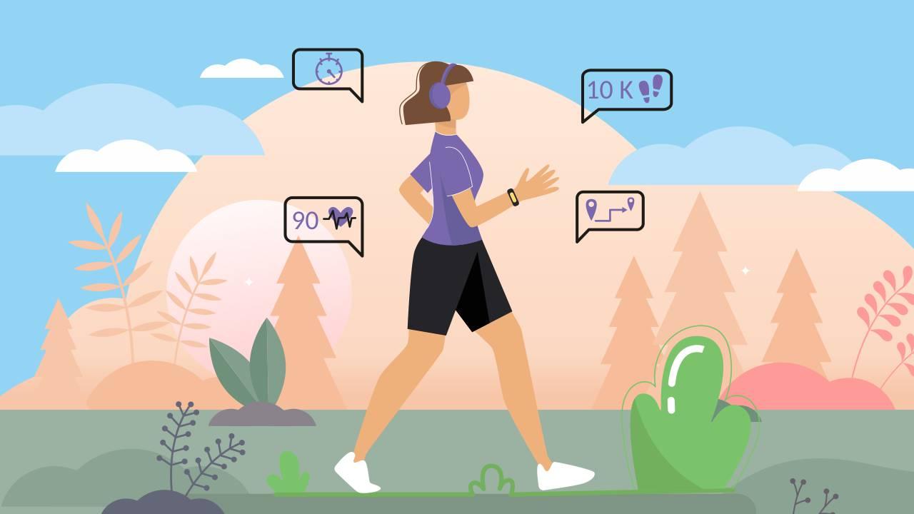 train progressively to walk longer