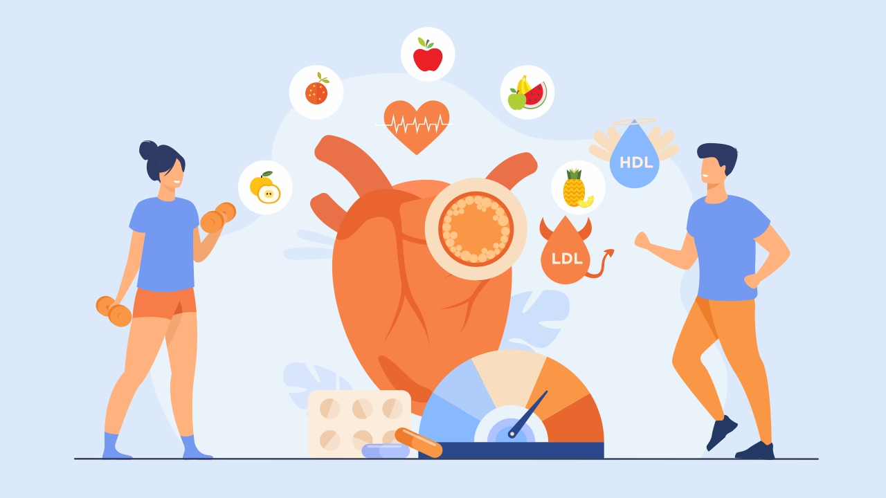 cholesterol and how to manage it with exercise and nutrition