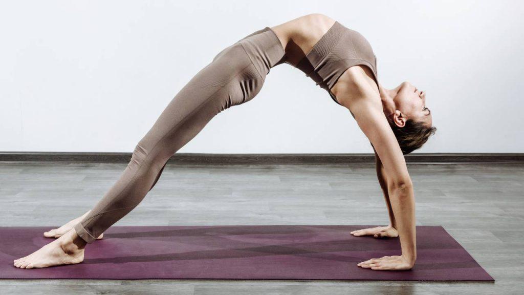 Yoga helps improve flexibility