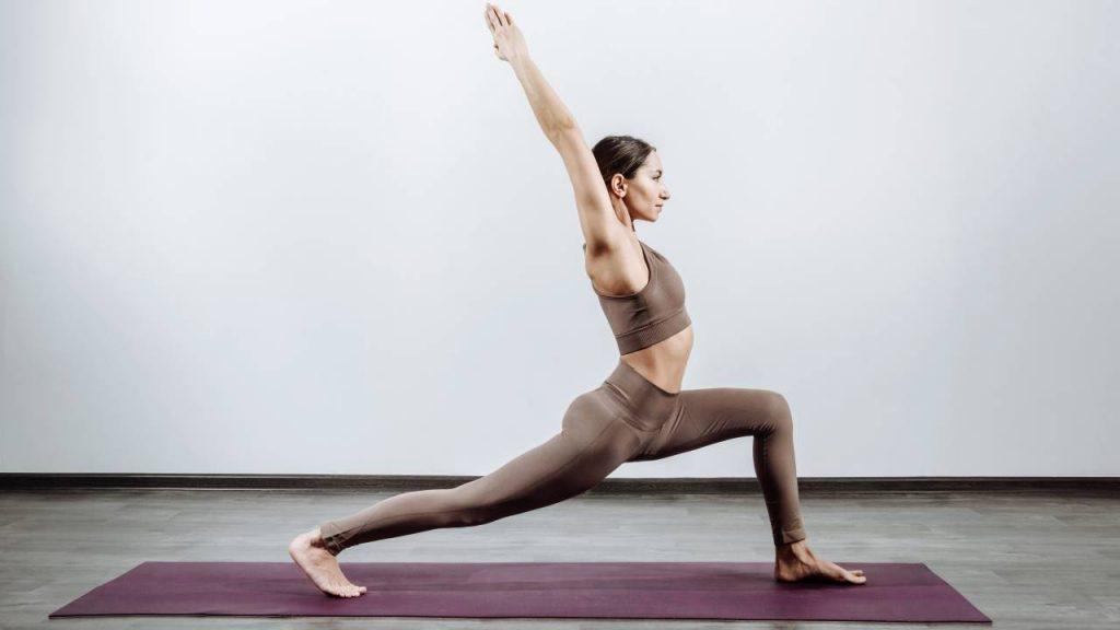Yoga helps builds strength