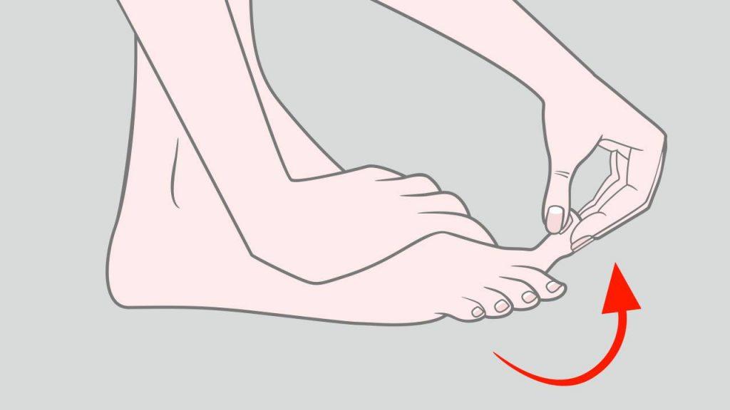 Exercises for plantar fasciitis: Toe stretch