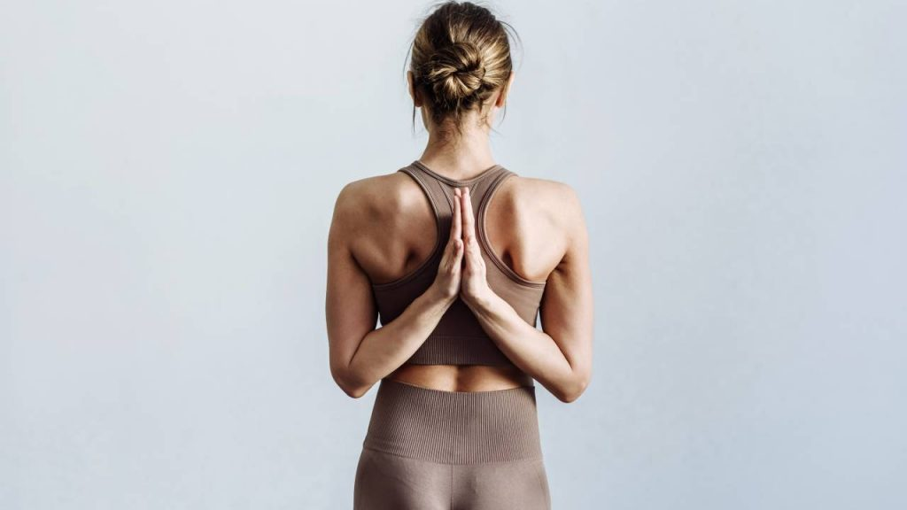 Yoga helps correct posture