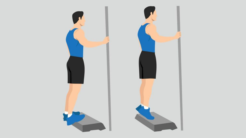 Exercises for plantar fasciitis: Calf stretch