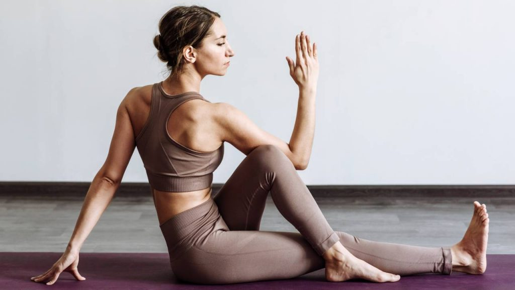 Yoga helps in maintaining a healthy digestive tract
