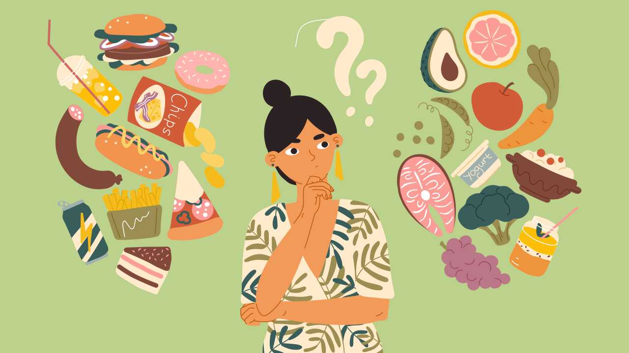 how to avoid junk food and eat healthy