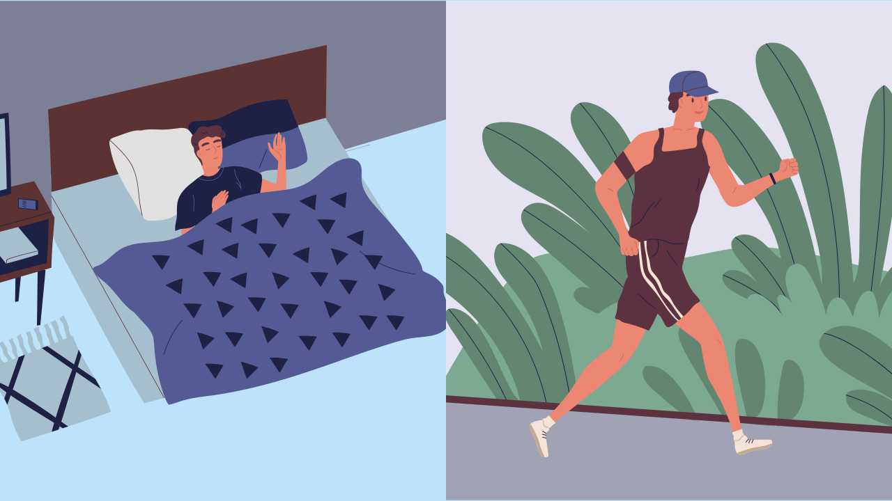 Role of sleep in running performance