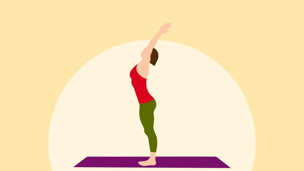 Hasta Uttanasana (Raised arm pose)