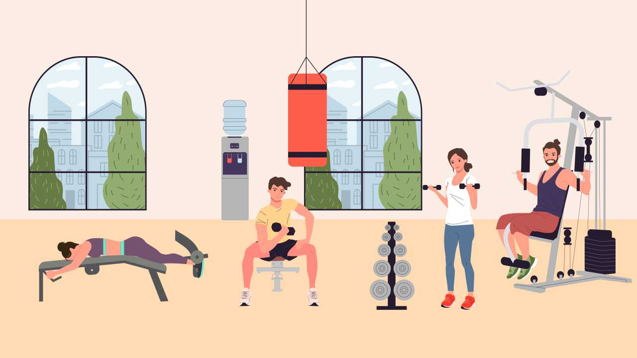 Machine-based or Free-weight Exercises