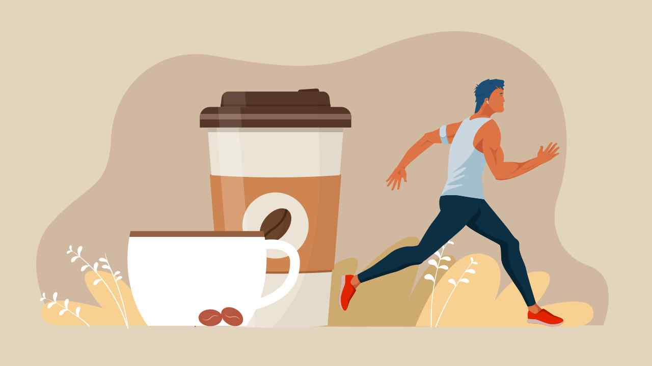 Role of caffeine in running performance