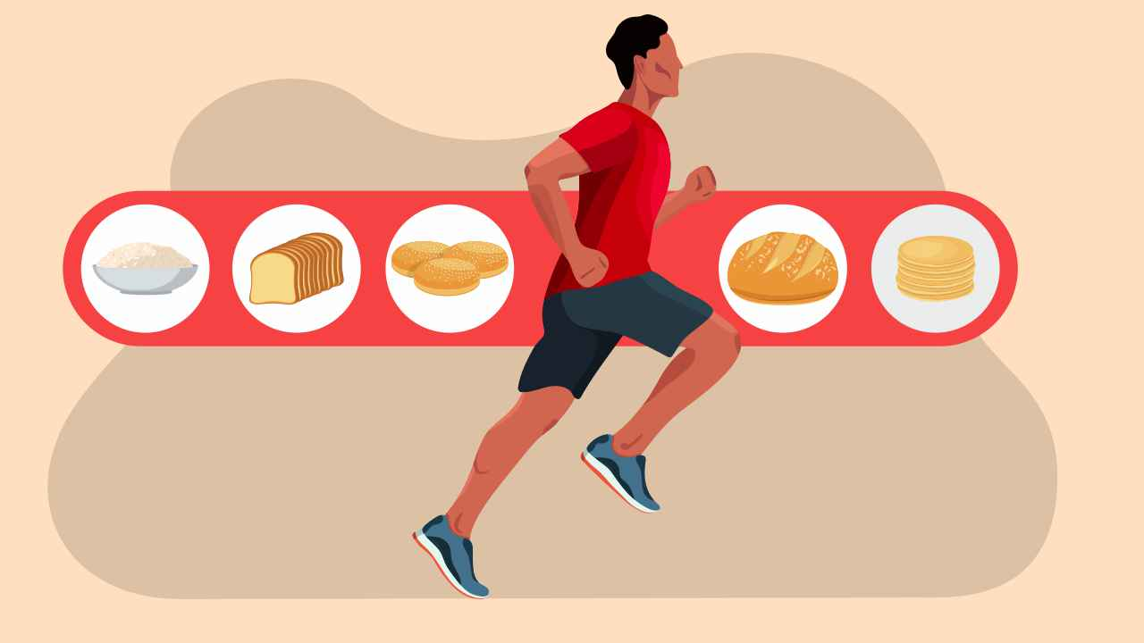 carbohydrate loading for a marathon