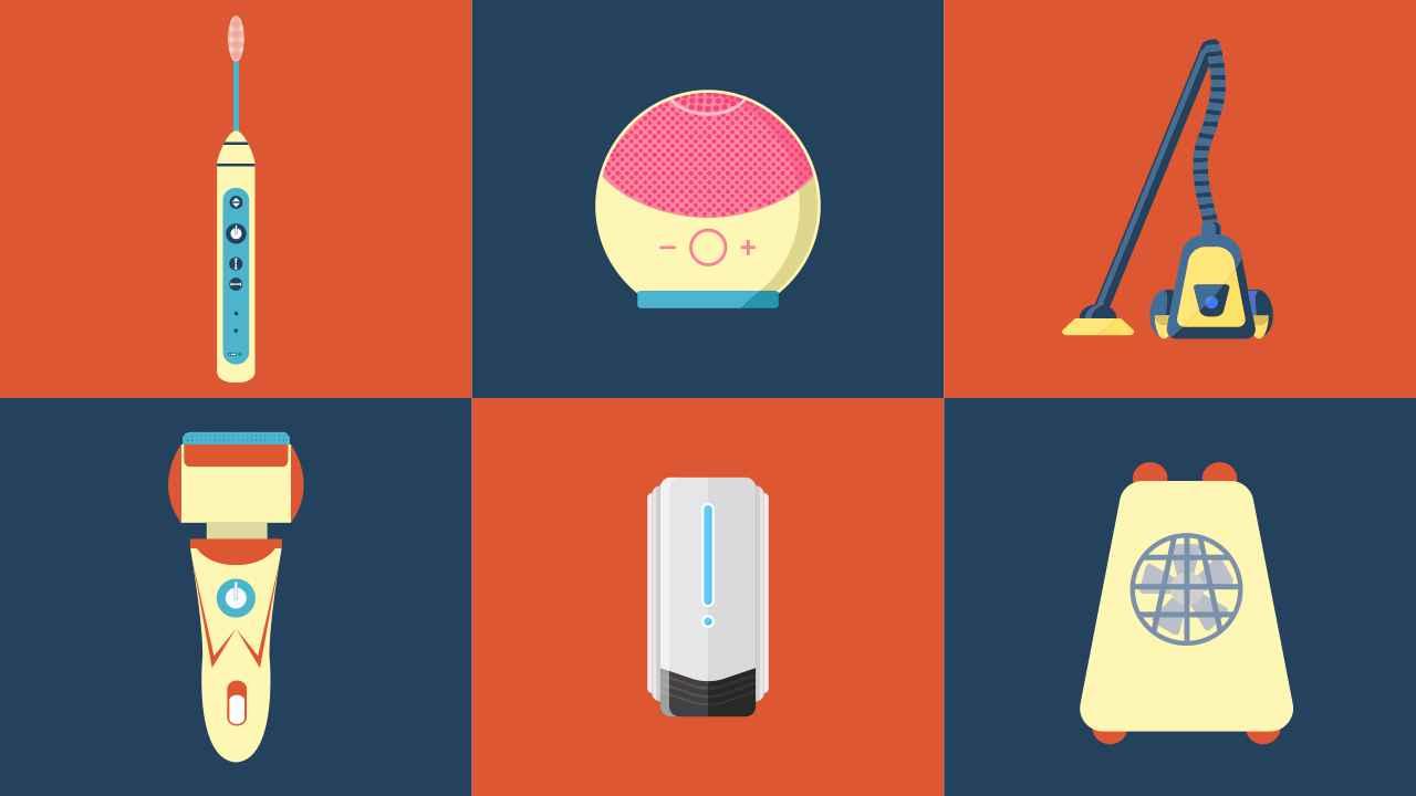 personal hygiene gadgets