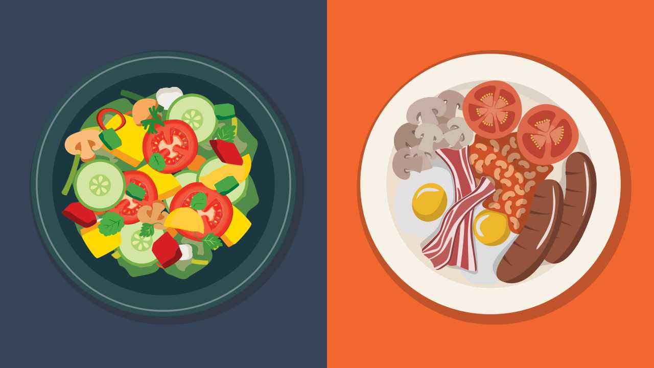 Raw Foods vs Cooked Foods