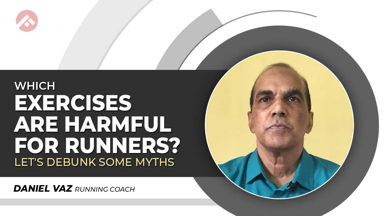 What exercises are harmful for runners?