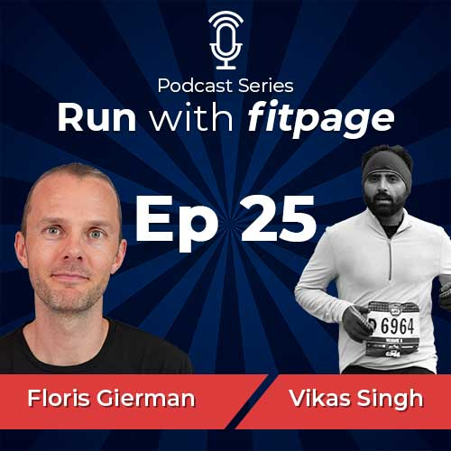 Ep 25: Floris Gierman On Using The Maffetone Method To Run Faster