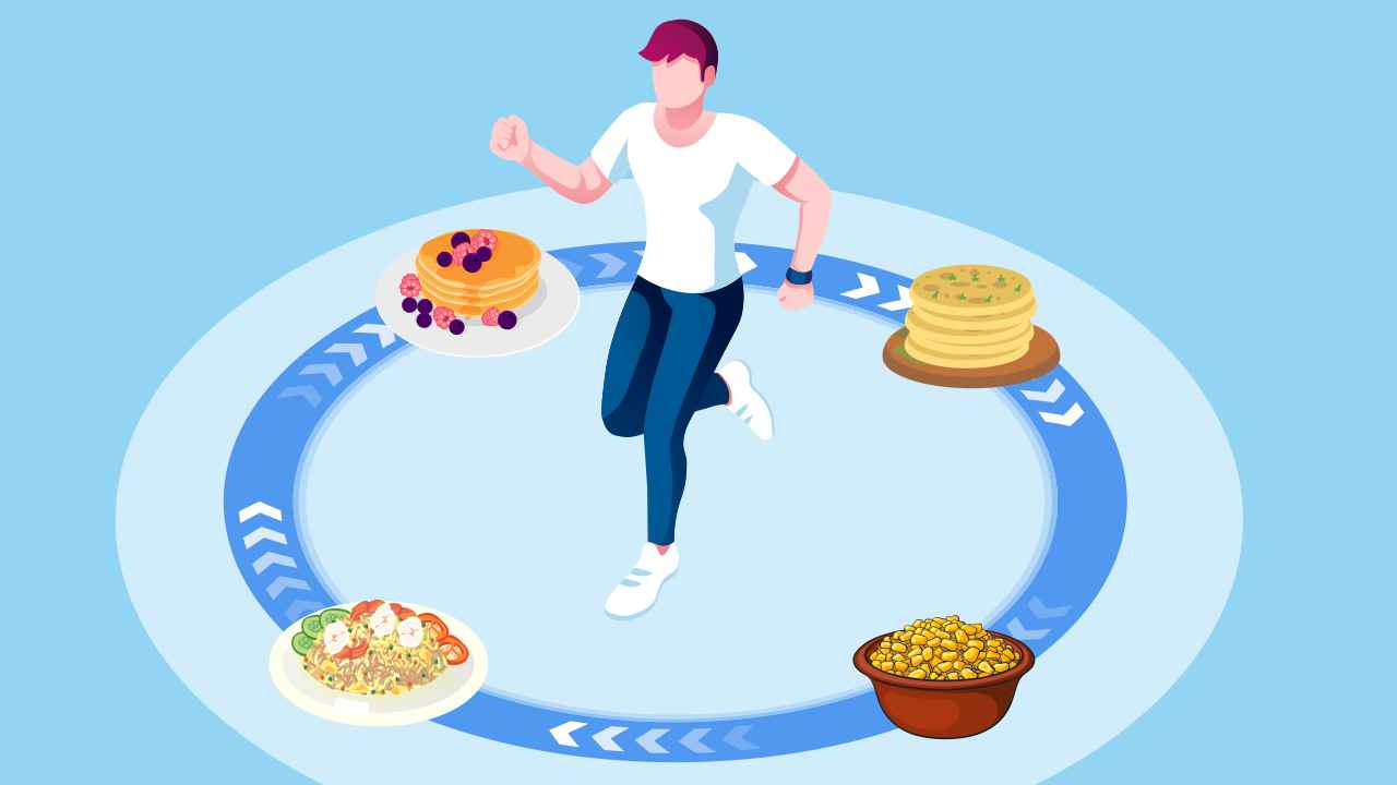Healthy Carb-rich Indian Recipes for Runners