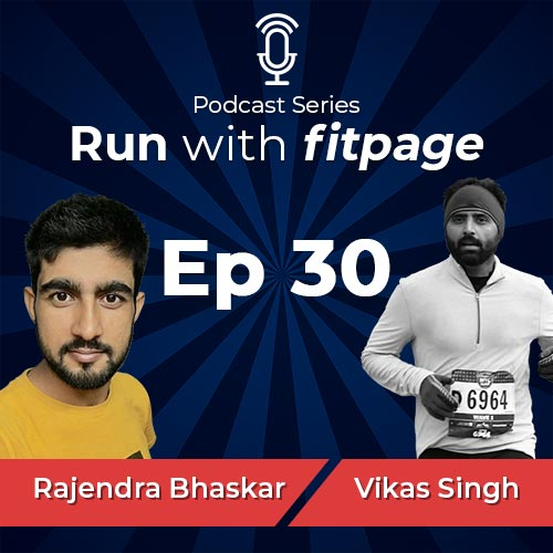 Ep 30: Rajendra Bhaskar, From Being Obese To a Sub 4:30 Half Ironman, and 2023 Everest Goals
