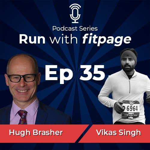 Ep 35: Hugh Brasher, Race Director of the London Marathon Talks About the History of London Marathon, Building Sweatshop and Finding Inspiration Through Sports