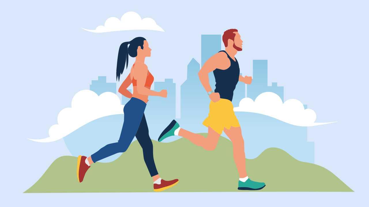 Run-walk method