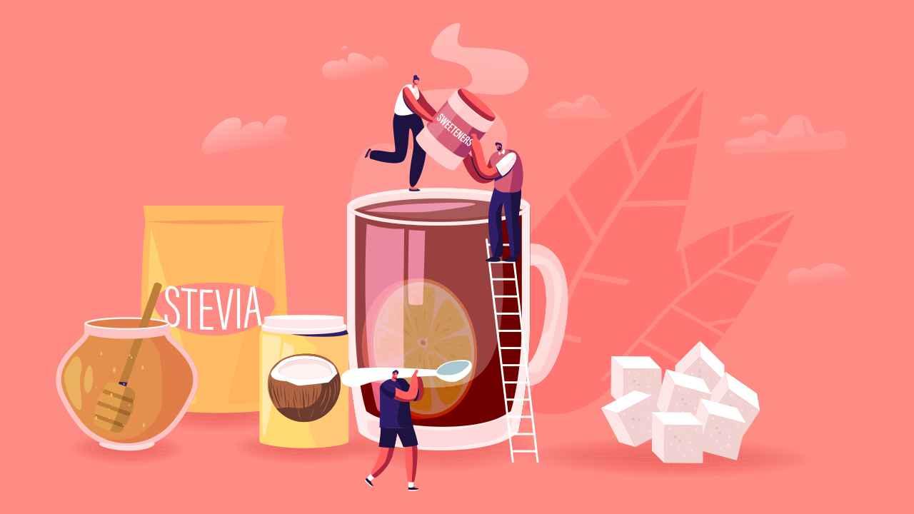 People Eating Artificial Sweeteners