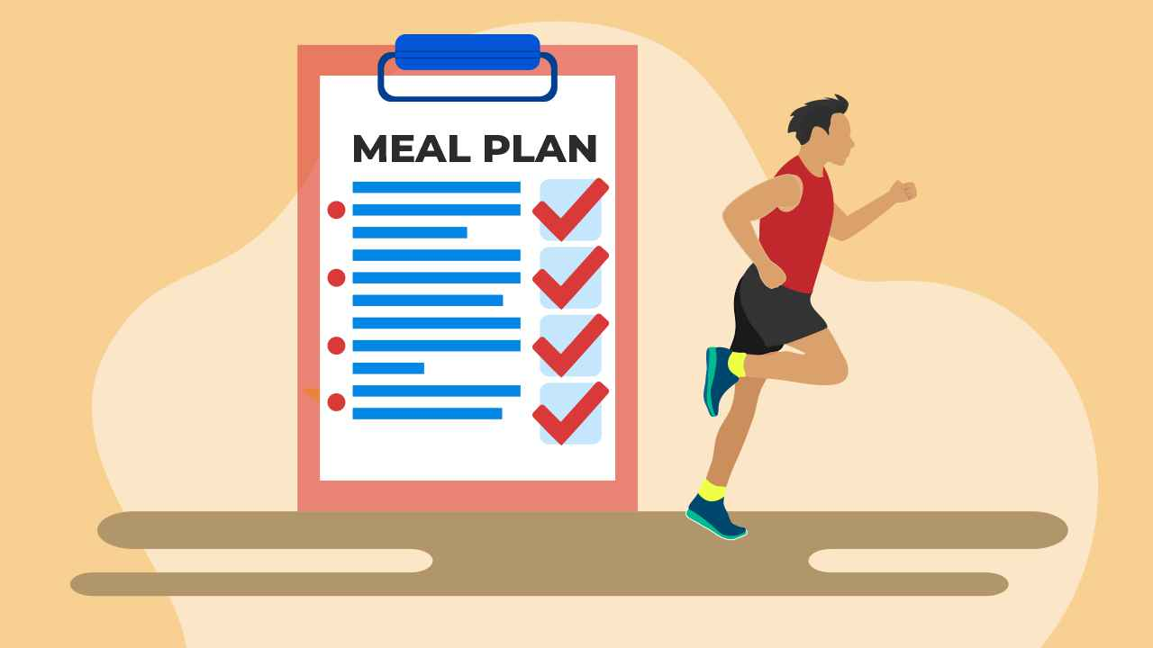 Easy meal plans for busy runners